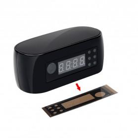 YMSPIED Kamera Pengintai WiFi CCTV Spy Camera Bentuk Jam Alarm 1080P - Z16 - Black - 2