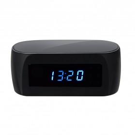 YMSPIED Kamera Pengintai WiFi CCTV Spy Camera Bentuk Jam Alarm 1080P - Z16 - Black - 6