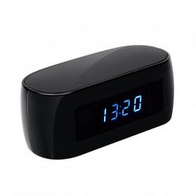 YMSPIED Kamera Pengintai WiFi CCTV Spy Camera Bentuk Jam Alarm 1080P - Z16 - Black - 7