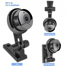 Wireless IP Camera CCTV P2P 960P - JW-Q2 - Black - 6