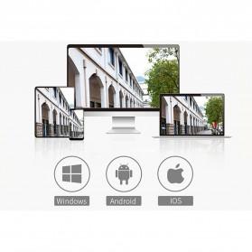 Wireless IP Camera CCTV P2P 960P - JW-Q2 - Black - 7