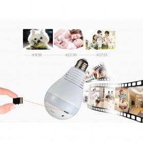 KERUI CCTV IP Camera Model Bohlam LED E27 960P 1.3MP - IPC-C3310-B1 - White - 3