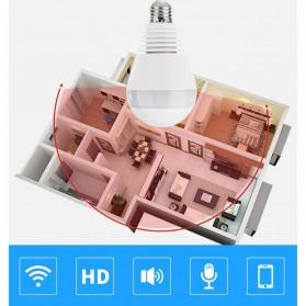 KERUI CCTV IP Camera Model Bohlam LED E27 960P 1.3MP - IPC-C3310-B1 - White - 9