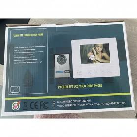 Kamera Pintu Intercom Doorbell LCD Monitor 7 Inch - 813MKB11-EU - Black - 9