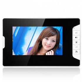 Kamera Pintu Intercom Doorbell LCD Monitor 7 Inch - 813MKB11-EU - Black - 2