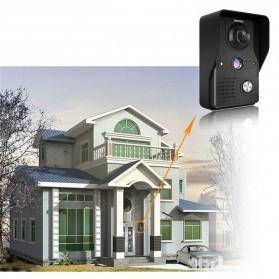 Kamera Pintu Intercom Doorbell LCD Monitor 7 Inch - 813MKB11-EU - Black - 3
