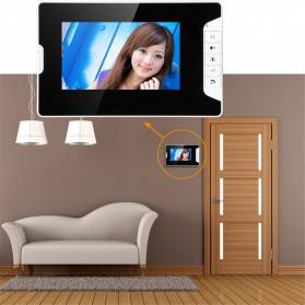 Kamera Pintu Intercom Doorbell LCD Monitor 7 Inch - 813MKB11-EU - Black - 4