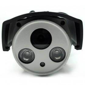 CCD Dome CCTV Camera 1/4 Inch CMOS 720P 6mm - IPW4-04 - White - 2