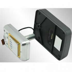 Wireless Peephole Video Door Phone 3x Monitors - JS-PVD335(1V3) - Black - 3