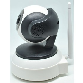 IP Camera with TF Card Slot 720P - IP1005W - White - 2