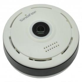 Sinofer Panoramic Wireless IP Camera CCTV 360 Degree 960P - S-C03 - White - 2