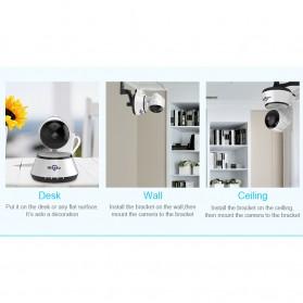 Hiseeu Wireless IP Camera CCTV HD 720P - White - 6