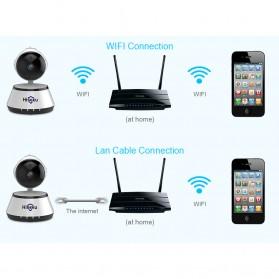 Hiseeu Wireless IP Camera CCTV HD 720P - White - 7