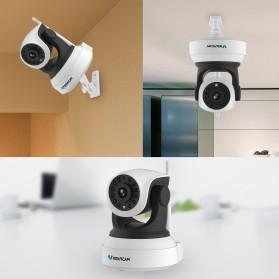 Vstarcam Wireless IP Camera CCTV 1/4 ONVIF CMOS 3.6mm 720P - White - 2