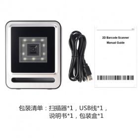 QINYE 2D Omnidirectional Image Barcode Scanner - YHD-9200 - Black - 10
