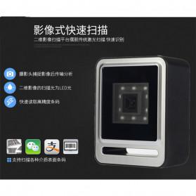 QINYE 2D Omnidirectional Image Barcode Scanner - YHD-9200 - Black - 7