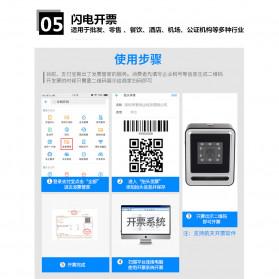 QINYE 2D Omnidirectional Image Barcode Scanner - YHD-9200 - Black - 9