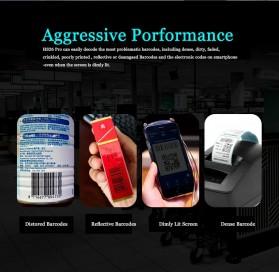 YK&SCAN USB Barcode Scanner 2D QR 1D - HS26 - Black - 5