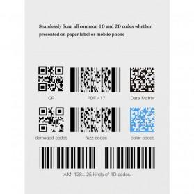 YK&SCAN USB Barcode Scanner 2D QR 1D - HS26 - Black - 6