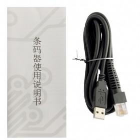 Yongli Barcode Scanner - XYL-8202 - Black - 5