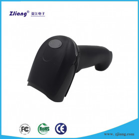 Zjiang Wireless Barcode Scanner 1D Type - ZJ-7620 - Black