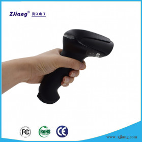 Zjiang Wireless Barcode Scanner 1D Type - ZJ-7620 - Black - 2