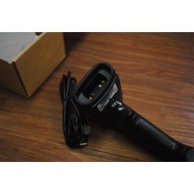 Zjiang Wired Barcode Scanner 1D 2D QR - ZJ-7810 - Black - 2