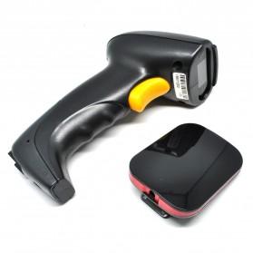 Taffware Wireless Barcode Scanner with Storage - YK-W930 - Black - 2
