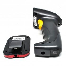 Taffware Wireless Barcode Scanner with Storage - YK-W930 - Black - 5