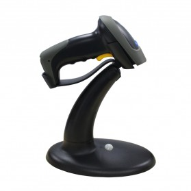 Taffware Handsfree Automatic Laser 1D Barcode Scanner Reader with Stand - YK-990 - Gray