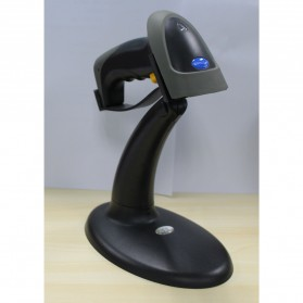 Taffware Handsfree Automatic Laser 1D Barcode Scanner Reader with Stand - YK-990 - Gray - 4
