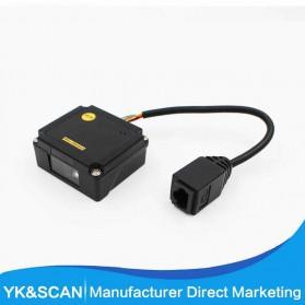 TaffWare Embedded Barcode Scanner 2D QR 1D - EP2000 - Black - 3