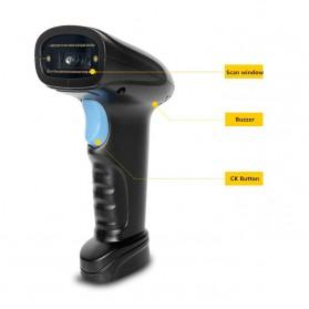TaffWare USB Barcode Scanner 1D - YK-M1 - Black - 6
