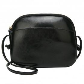 Tas Selempang Wanita Crossbody Purse Vintage - XN180706-4 - Black