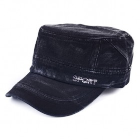 Topi Flat Top Cap Komando Model Sport Fashion - P1 - Black