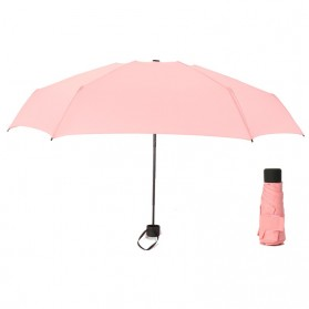 Payung Lipat Simple Fashion Umbrella UV Protection 87 cm - DYD164 - Pink - 2