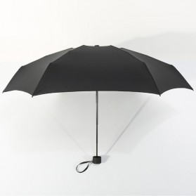 Payung Lipat Simple Fashion Umbrella UV Protection 87 cm - DYD164 - Black