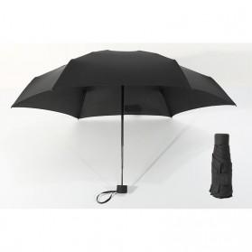 Payung Lipat Simple Fashion Umbrella UV Protection 87 cm - DYD164 - Black - 2