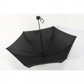 Payung Lipat Simple Fashion Umbrella UV Protection 87 cm - DYD164 - Black - 4
