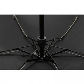 Payung Lipat Simple Fashion Umbrella UV Protection 87 cm - DYD164 - Black - 7