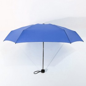 Payung Lipat Simple Fashion Umbrella UV Protection 87 cm - DYD164 - Navy Blue