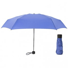 Payung Lipat Simple Fashion Umbrella UV Protection 87 cm - DYD164 - Navy Blue - 2