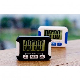 Timer & Stopwatch Masak Dapur Kitchen Chronograph - RT332 - Black - 7
