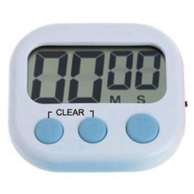 Timer Masak Dapur LCD Kitchen Countdown Clock - RT332 - White