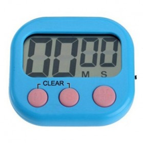 Timer Masak Dapur LCD Kitchen Countdown Clock - RT332 - Blue