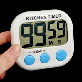 Timer Masak Dapur LCD Kitchen Countdown Clock - RT332 - Blue - 3