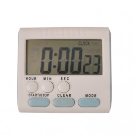 Timer Masak Dapur Magnetic Stand Kitchen Countdown Clock - JS-183 - White - 3