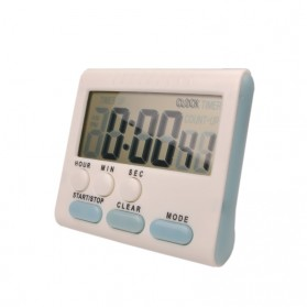 Timer Masak Dapur Magnetic Stand Kitchen Countdown Clock - JS-183 - White - 7