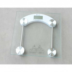 Taffware Digipounds Gohide Timbangan Badan Kaca Digital 180Kg Large Size - 2003B - Transparent - 4