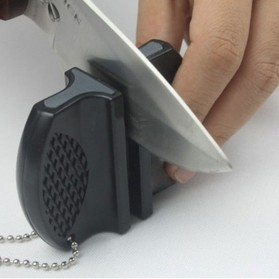ONEUP Pengasah Pisau Mini Portable Knife Sharpener - MDQ001 - Black